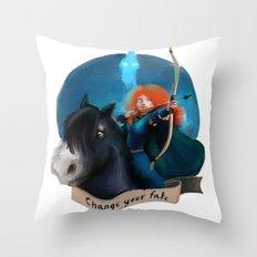 Merida Throw Pillow