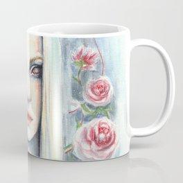 """Blossom"" Watercolour Surreal Fantasy Nymph Coffee Mug"
