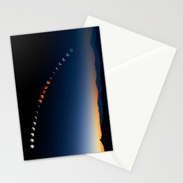 Moon Cycle Stationery Cards