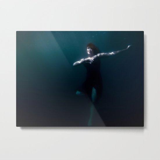 Dancing Under The Water Metal Print