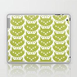 Mid Century Modern Cat Chartreuse Laptop & iPad Skin