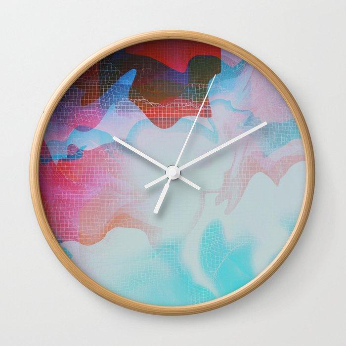 Glitch 29 Wall Clock