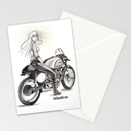 Retro Moto Girls - Manx Stationery Cards