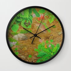 A Day of Forest (6). (close look) Wall Clock