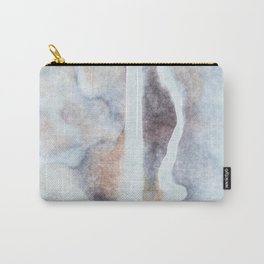 stained fantasy snowy highway Carry-All Pouch