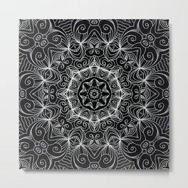 Drawing Floral Doodle G10 Metal Print