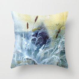 Winter 5 Throw Pillow