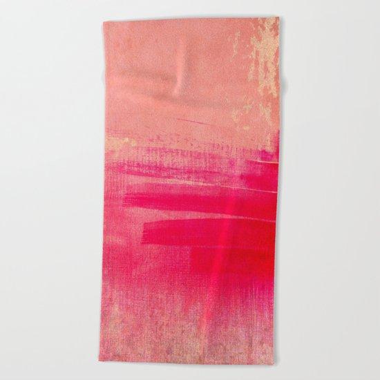 love & emotion Beach Towel