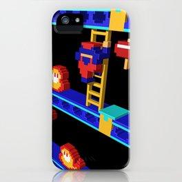 Inside Donkey Kong stage 4 iPhone Case