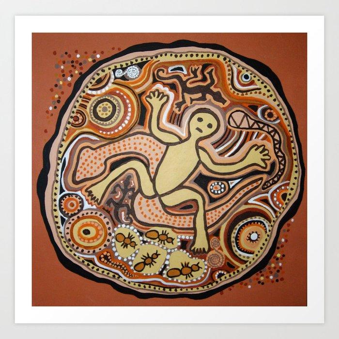 The Earth Spirit / Maavaim Art Print