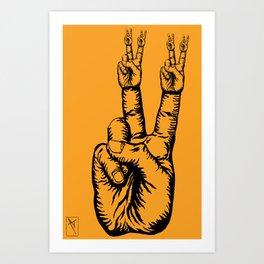 Spread it. Art Print