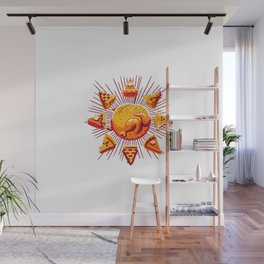 Sunny with a Chance of Leftovers Wall Mural