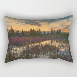 Autumn Dolly Sods Sunset Rectangular Pillow