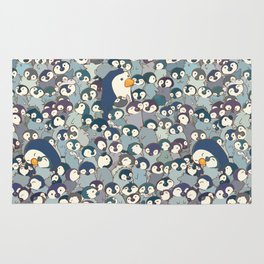 Baby Penguin Pattern Rug