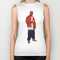 2pac Biker Tanks featuring Big L  by Gold Blood