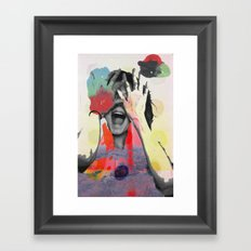Bundenko collage Framed Art Print