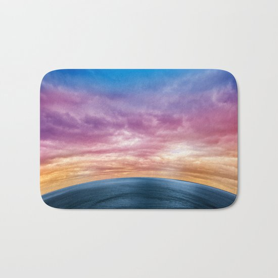 Rainbow Planet Bath Mat