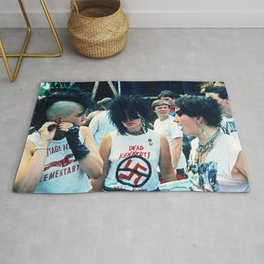 Rock Against Reagan Rug