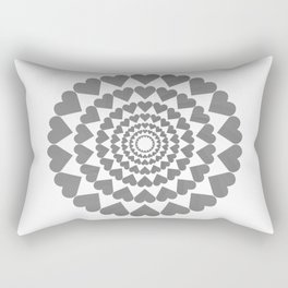 Center Your Heart Rectangular Pillow