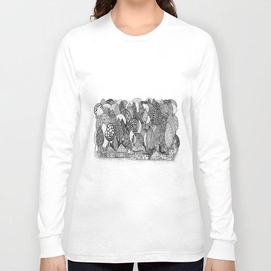 Mysterious Village Long Sleeve T-shirt