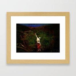 Butoh Framed Art Print