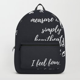 Heartbeats Galloping Backpack