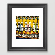 VIDEO CHICKENBOT INSPECTORS and the GOLDEN EGG MERRY-GO-ROUND Framed Art Print