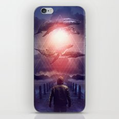 The Space Between Dreams & Reality iPhone Skin