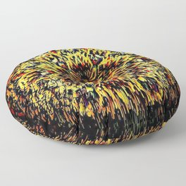 Multiversal Bloom Season Floor Pillow