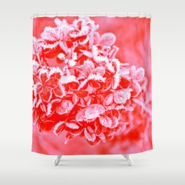 CORAL Living CRYSTALS Shower Curtain