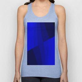 Just Blue #decor #society6 Unisex Tank Top