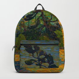 Tom Thomson Byng Inlet Georgian Bay winter 1914-1915 Canadian Landscape Artist Backpack