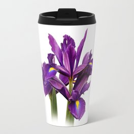 Elegant Dutch Iris Purple Sensation Travel Mug