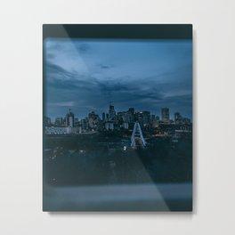 Edmonton–Gotham City Metal Print