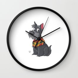 Jock - Lady And The Tramp Wall Clock