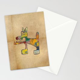 Dog Abstract Stationery Cards