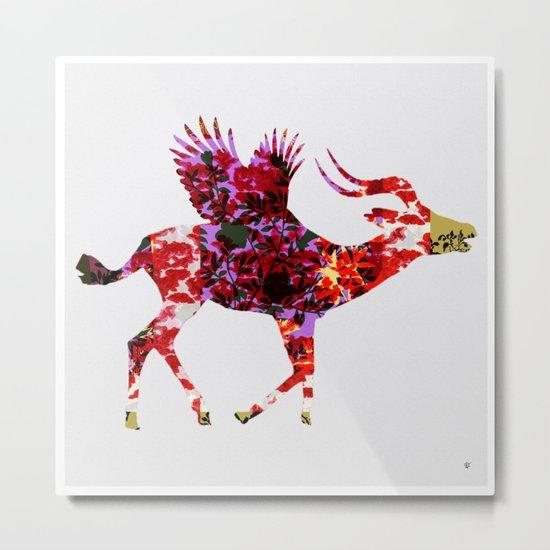 FabCreature · AntiLoFly 3 Metal Print