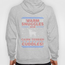Cairn Terrier Ugly Christmas Sweaters Hoody
