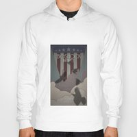 bioshock infinite Hoodies featuring Bioshock Infinite - One Nation Over God by s2lart