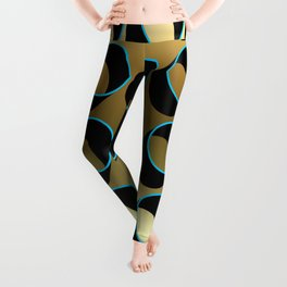 Tubes on Gold Leggings