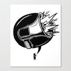 GET LOUD Canvas Print