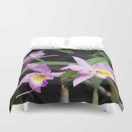 Cattleya Horace Maxima Orchid Duvet Cover