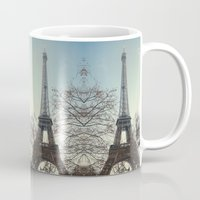 90s Mugs featuring The 90s in Paris by MarioGuti