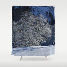 Hoarfrost And Snow Shower Curtain