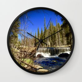Falling Water Wall Clock
