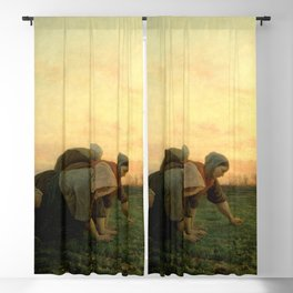 Jules Breton - The Weeders Blackout Curtain