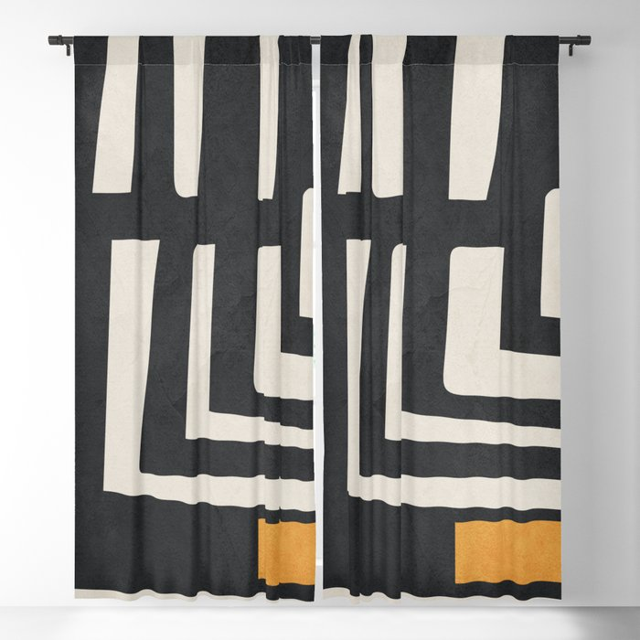Abstract Art 16 Blackout Curtain