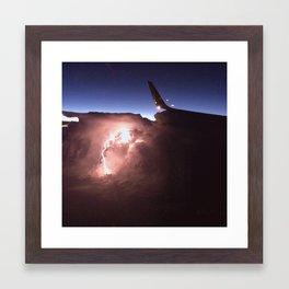 Light show.  Framed Art Print