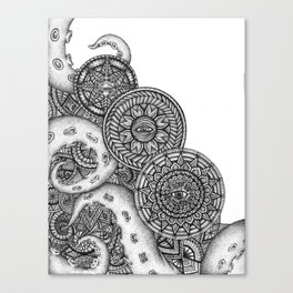 Mandacles Canvas Print