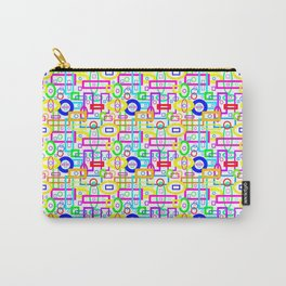 Rectangles and Elipses in Color (2018) Carry-All Pouch